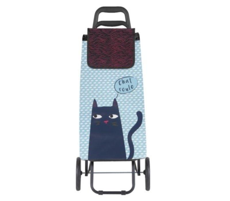 Derriere la porte - trolley -  black cat