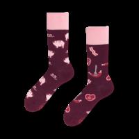 Many mornings - sokken - piggy tales