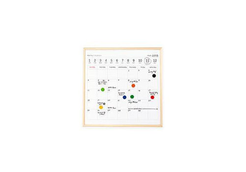Kikkerland Kikkerland - whiteboard - kalender mini