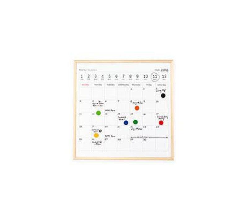 Kikkerland - whiteboard - kalender mini