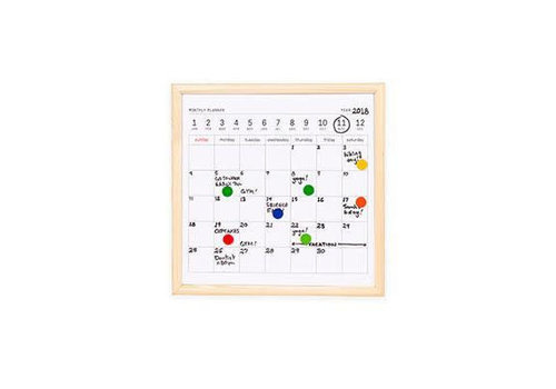 Kikkerland Kikkerland - whiteboard - kalender