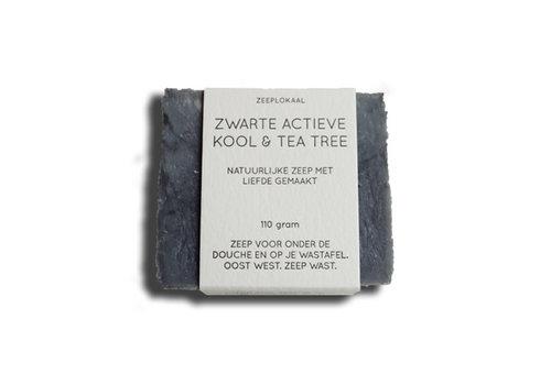 Zeeplokaal Zeeplokaal - actievekoolzeep - zwart