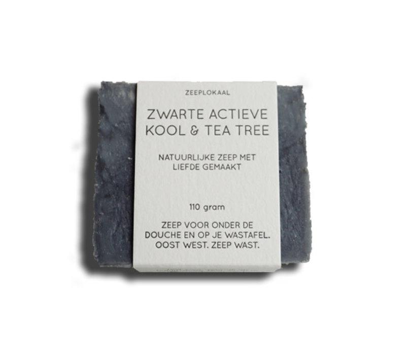 Zeeplokaal - actievekoolzeep - zwart