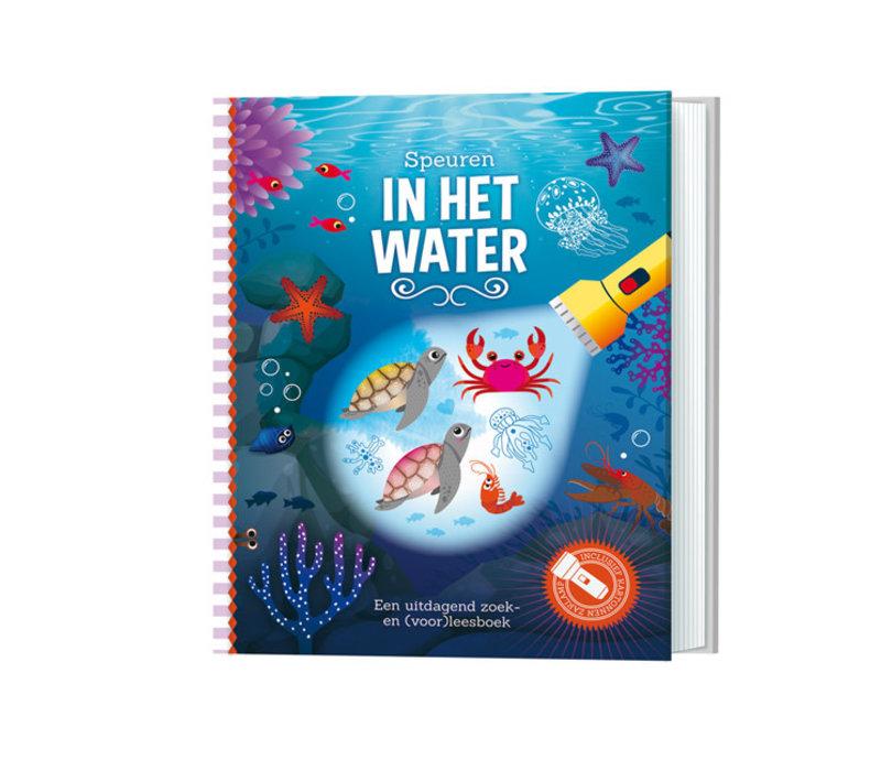 Lantaarn Publishers - zaklampboek - speuren in het water