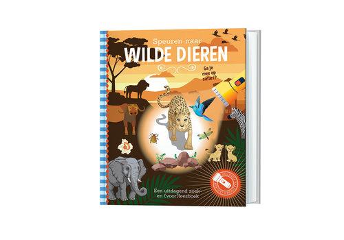Lantaarn Publishers Lantaarn Publishers - zaklampboek - speuren naar wilde dieren