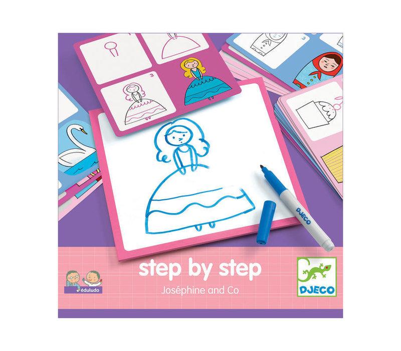 Djeco - leren tekenen - josephine & co