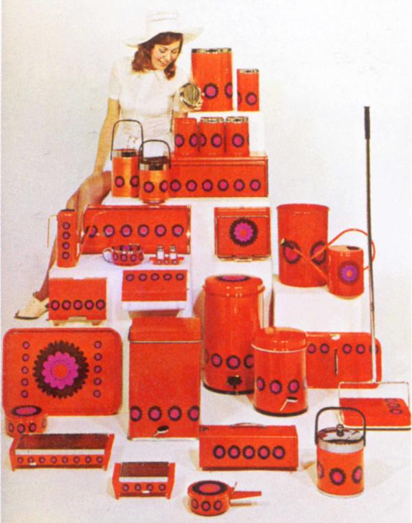 retro Brabantia catalogusfoto met Patrice productlijn