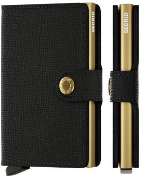 Secrid Miniwallet Crisple Black Gold