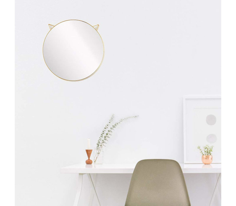 Balvi - spiegel kat - goud
