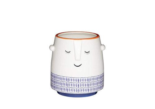 Kitchen Craft Kitchen Craft - (bloem)pot - sleepy face