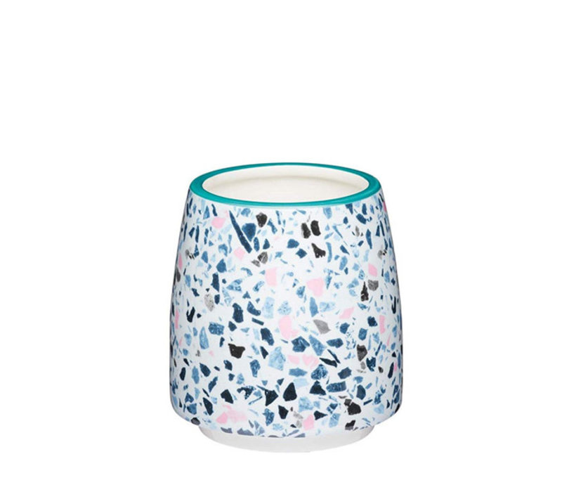 Kitchen Craft - (bloem)pot - terrazzo