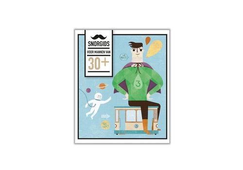 Snor Snor - snor-gids - 30+ voor mannen