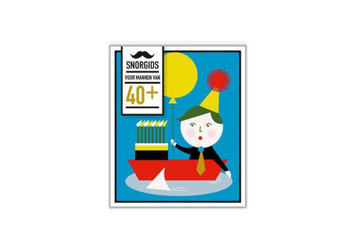 Snor Snor - snor-gids - 40+ voor mannen