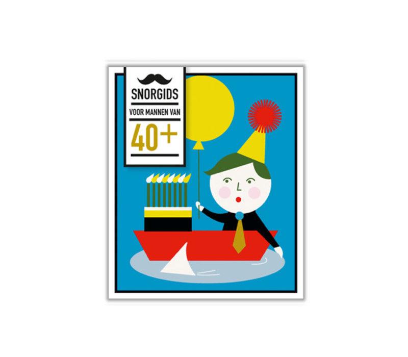 Snor - snor-gids - 40+ voor mannen
