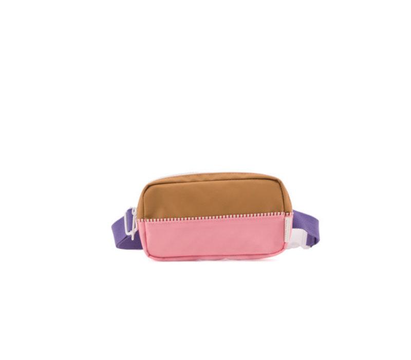 Sticky lemon - heuptasje - panache gold, puff pink en lobby purple