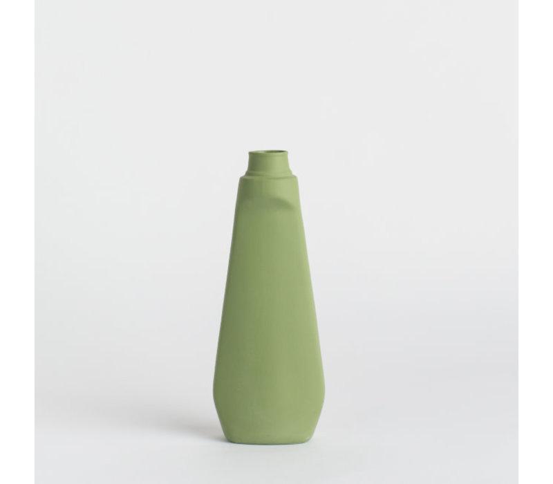 Foekje Fleur - porcelain bottle - #4 dark green