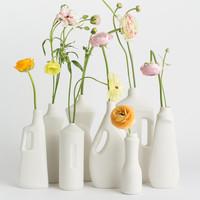 Foekje Fleur - porcelain bottle - #7 white