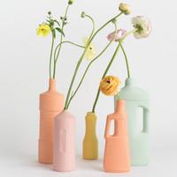 Foekje Fleur - porcelain bottle - #5 orange