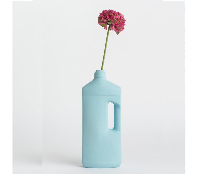 Foekje Fleur - porcelain bottle - #3 light blue