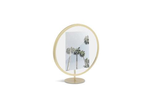 Umbra Umbra - fotolijst infinity 13x18cm - matte brasse