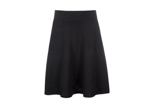 King Louie King Louie - sofia skirt milano crepe - black