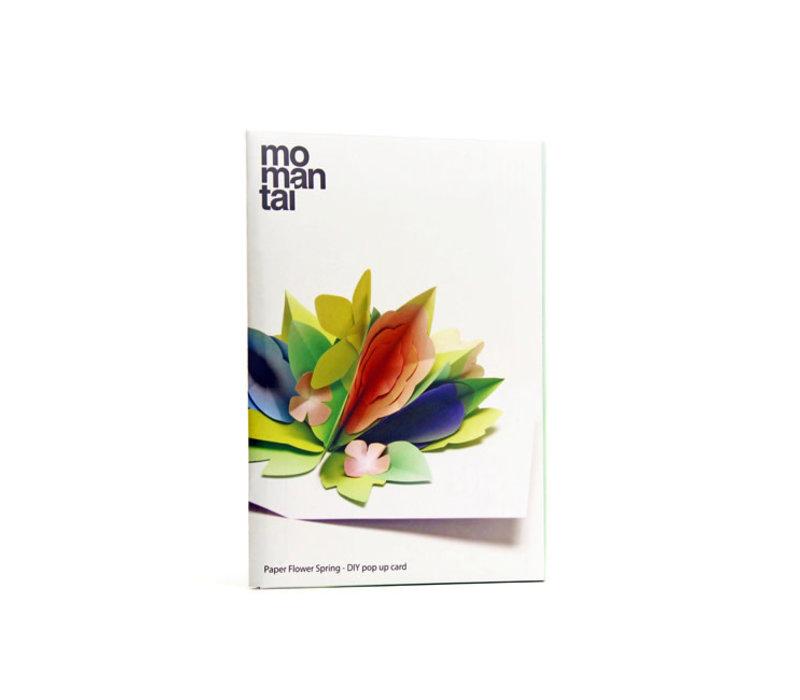Mo man tai - paper flower - spring