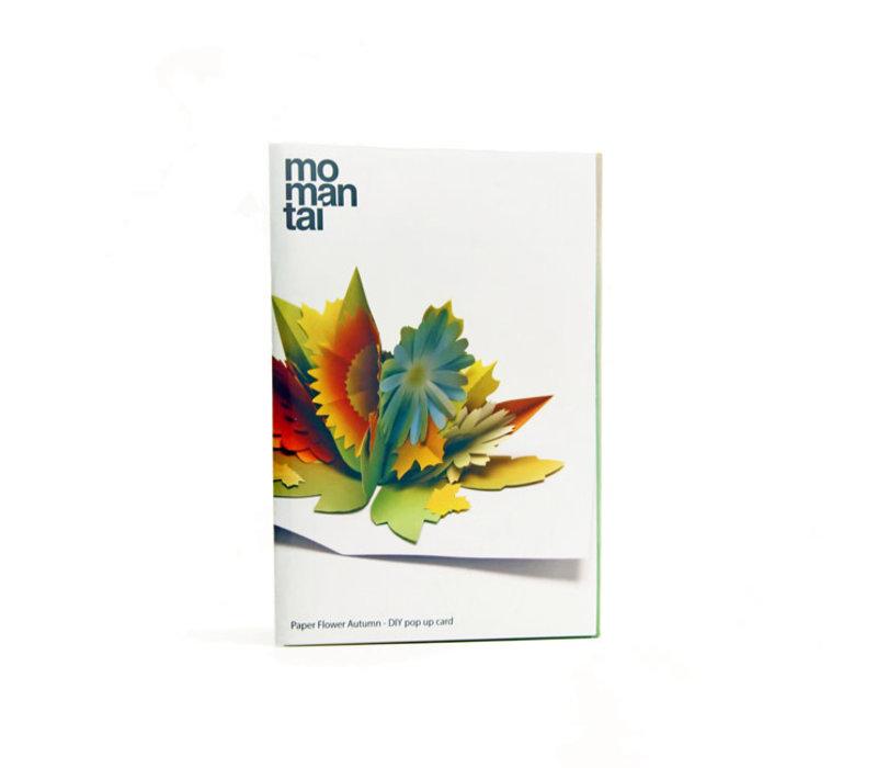 Mo man tai - paper flower - autumn