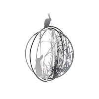 Mo man tai - decoration ball - rabbit