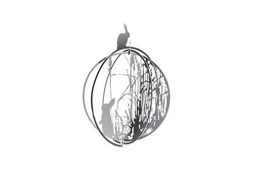 Mo man tai Mo man tai - decoration ball - rabbit