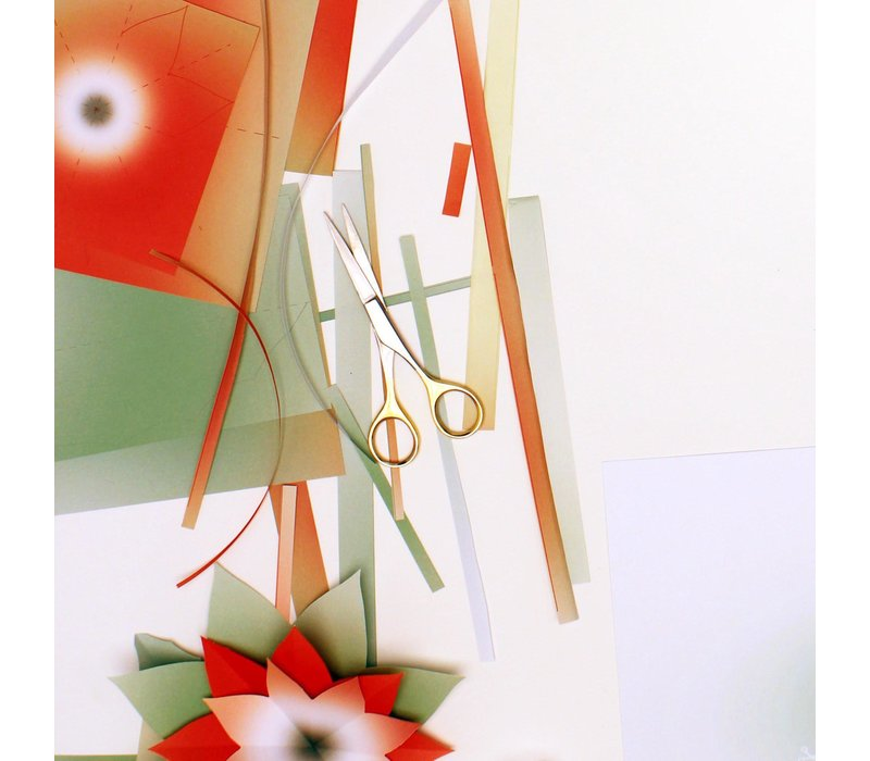 Mo man tai - paper flower - winter