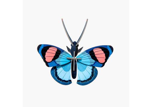 Studio Roof Studio Roof - muurdecoratie - peacock vlinder