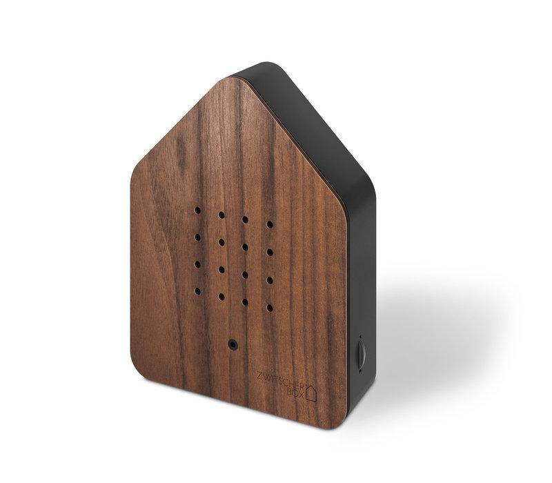 Zwitscherbox - vogelhuis relaxing - walnoot hout
