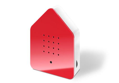 Zwitscherbox Zwitscherbox - vogelhuis relaxing - rood