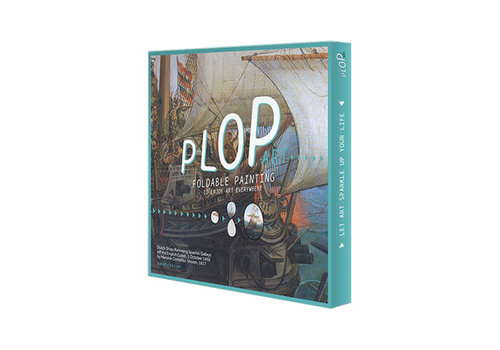 Plop Painted amsterdam - plop art - dutch ships
