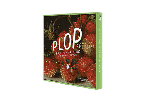 Plop Painted amsterdam - plop art - still life with strawberries