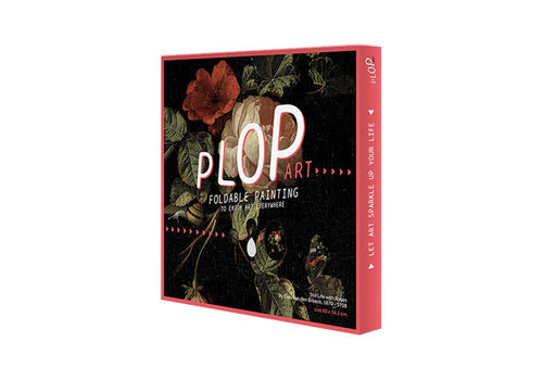 Plop Painted amsterdam - plop art - still life with roses