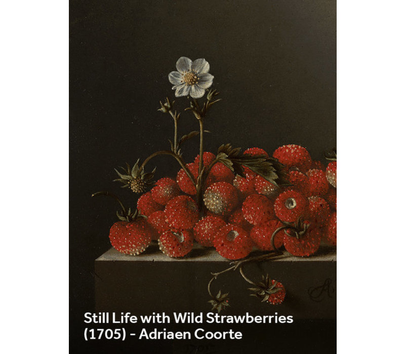 Painted amsterdam - plop art - still life with strawberries