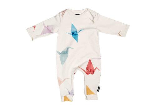 Snurk Snurk - jumpsuit babies - crane birds
