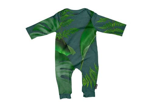 Snurk Snurk - jumpsuit babies - green forest