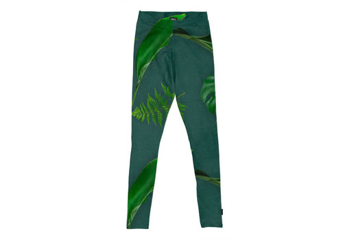 Snurk Snurk - legging kids - green forest
