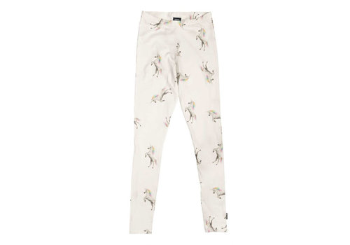 Snurk Snurk - legging kids - unicorn white