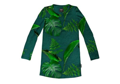 Snurk Snurk - long sleeve dress - green forest