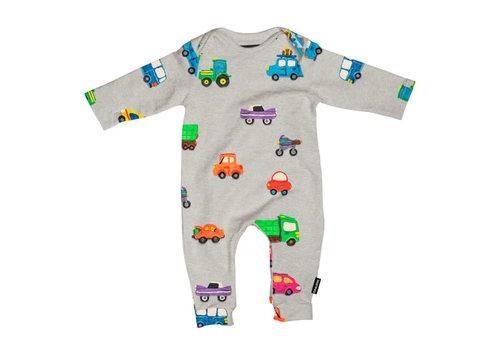 Snurk Snurk - jumpsuit babies - clay cars