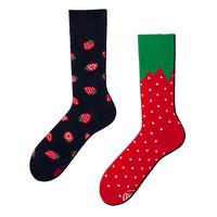 Many mornings - sokken - strawberries