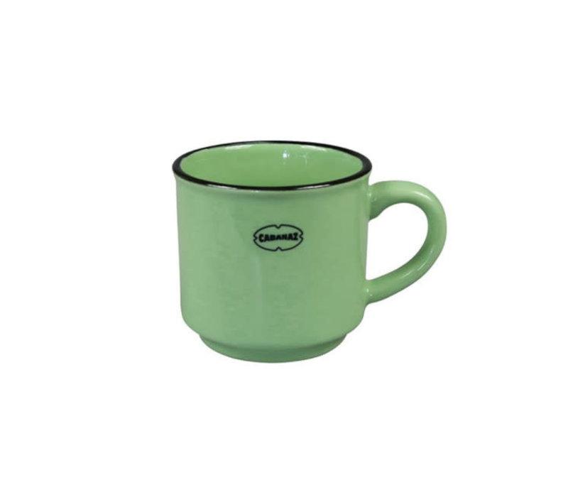 Cabanaz - espresso kop - vintage groen