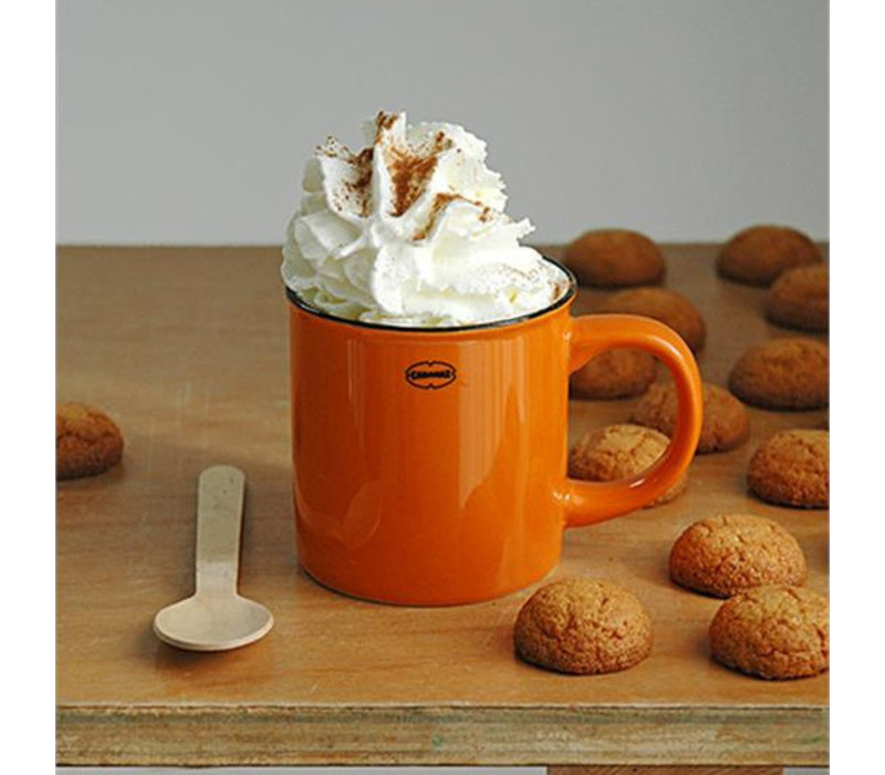 Cabanaz - koffiekop - oranje