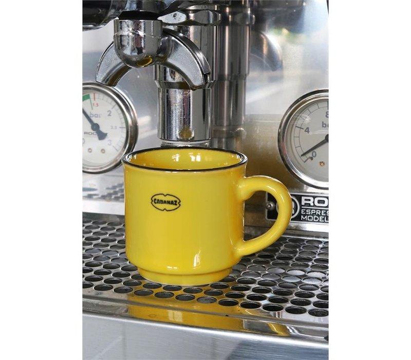 Cabanaz - espresso kop - geel
