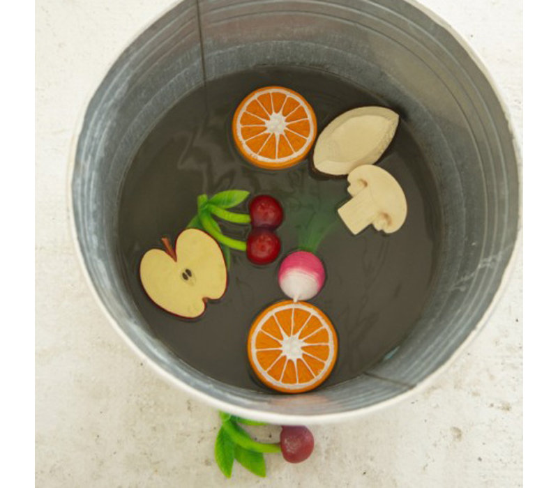 Oli & Carol - bijtspeeltje - sinaasappel