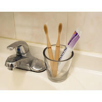 Kikkerland - bamboe tandenborstels - his & hers