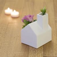 Kikkerland - plantenpot - huis